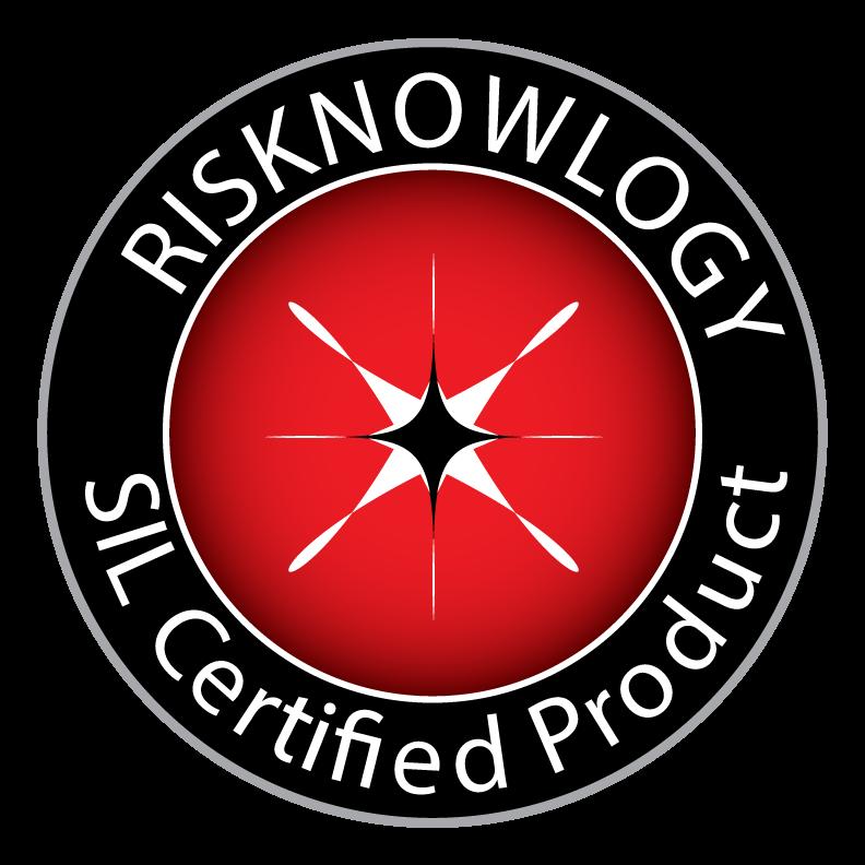 Sello Risknowlogy de Certificación SIL de Producto