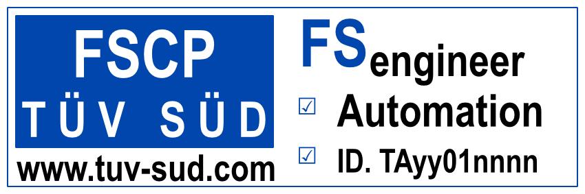 TUV SUD competence logos