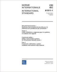 IEC 61511 standards