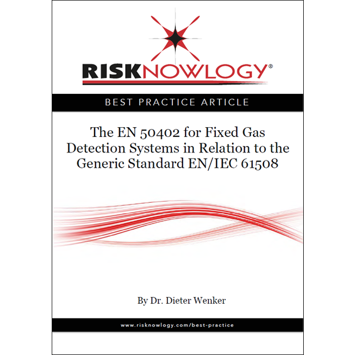 The EN 50402 for Fixed Gas Detection Systems in Relation to the Generic Standard IEC 61508