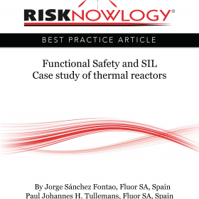 Functional Safety and SIL Case study of thermal reactors