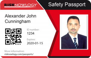 Risknowlogy Safety Passport ID Card
