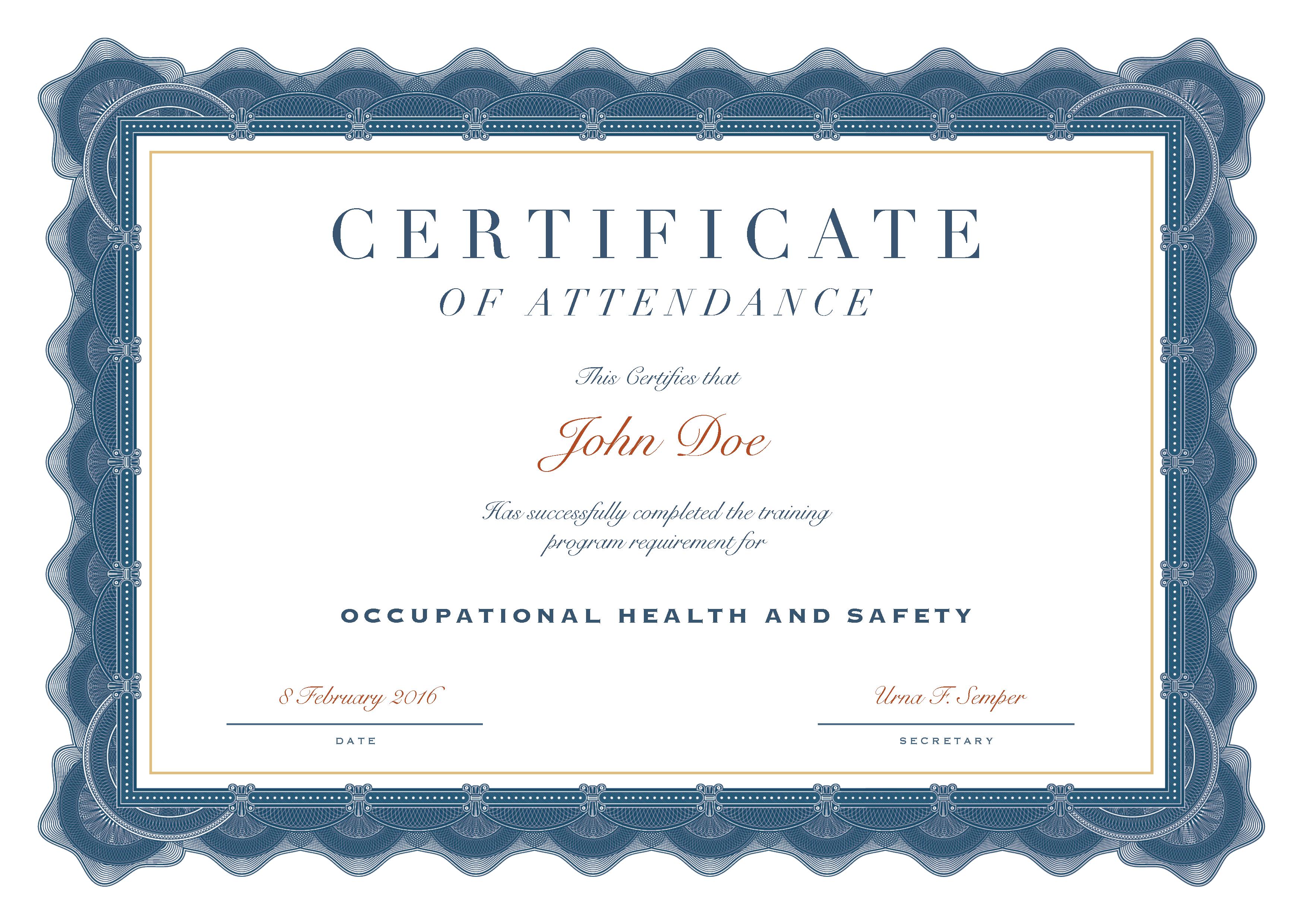 Safety Passport of John Doe