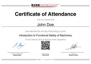 Introducción a la Seguridad Funcional de Máquinas