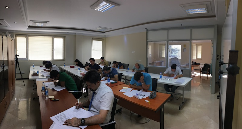 First Iranian TUV SIS IEC 61511 certification course exam