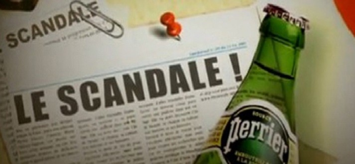 Perrier - Benzen - Scandal