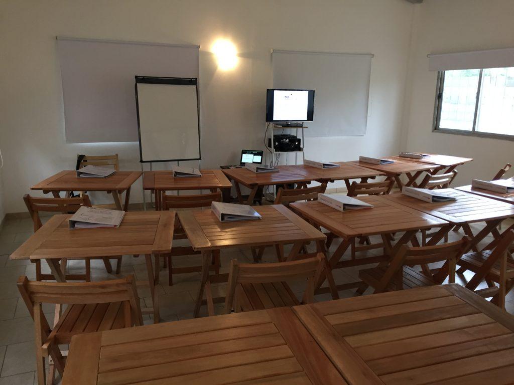 SUM del Centro Cultural FALDAD preparado para iniciar el curso