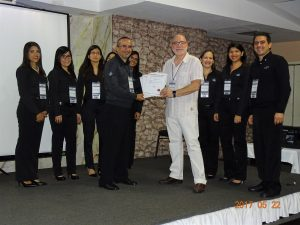 SIL competency in Venezuela - Lic. Ricardo A. Vittoni delivers to CSF the compliance on IEC 61511 certificates