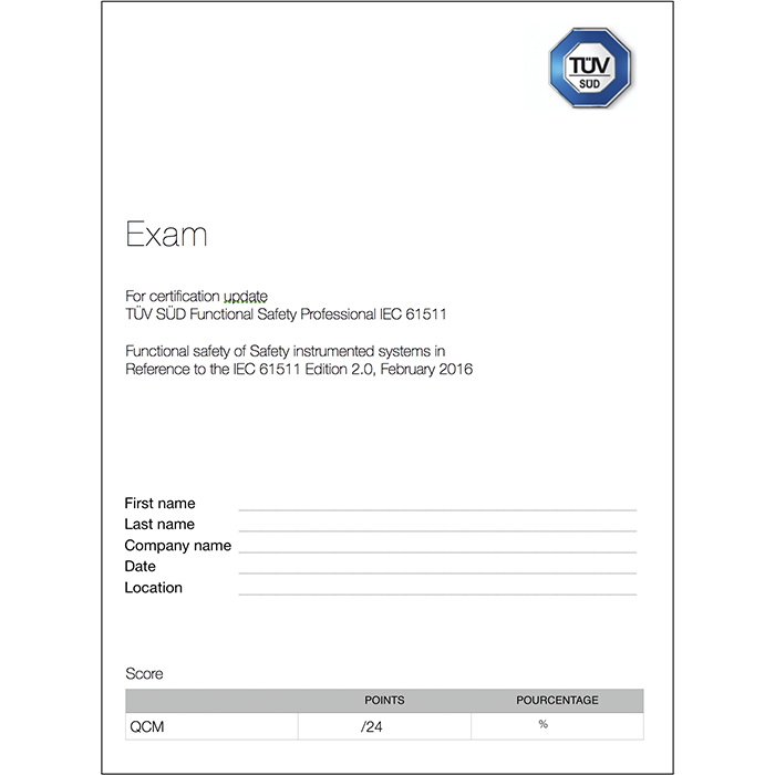 61511 2nd edition exam