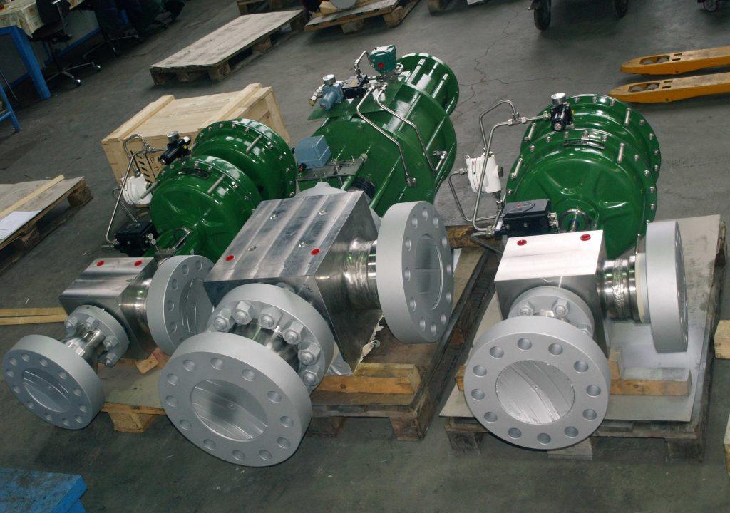 SIL certification ultra high pressure valves BHDT