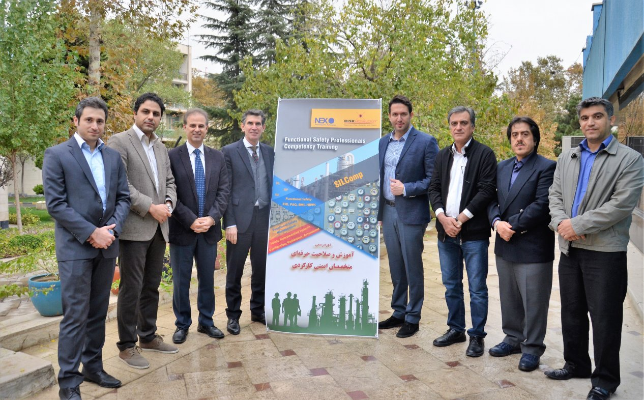 Second Iranian TUV SIS IEC 61511 certification course