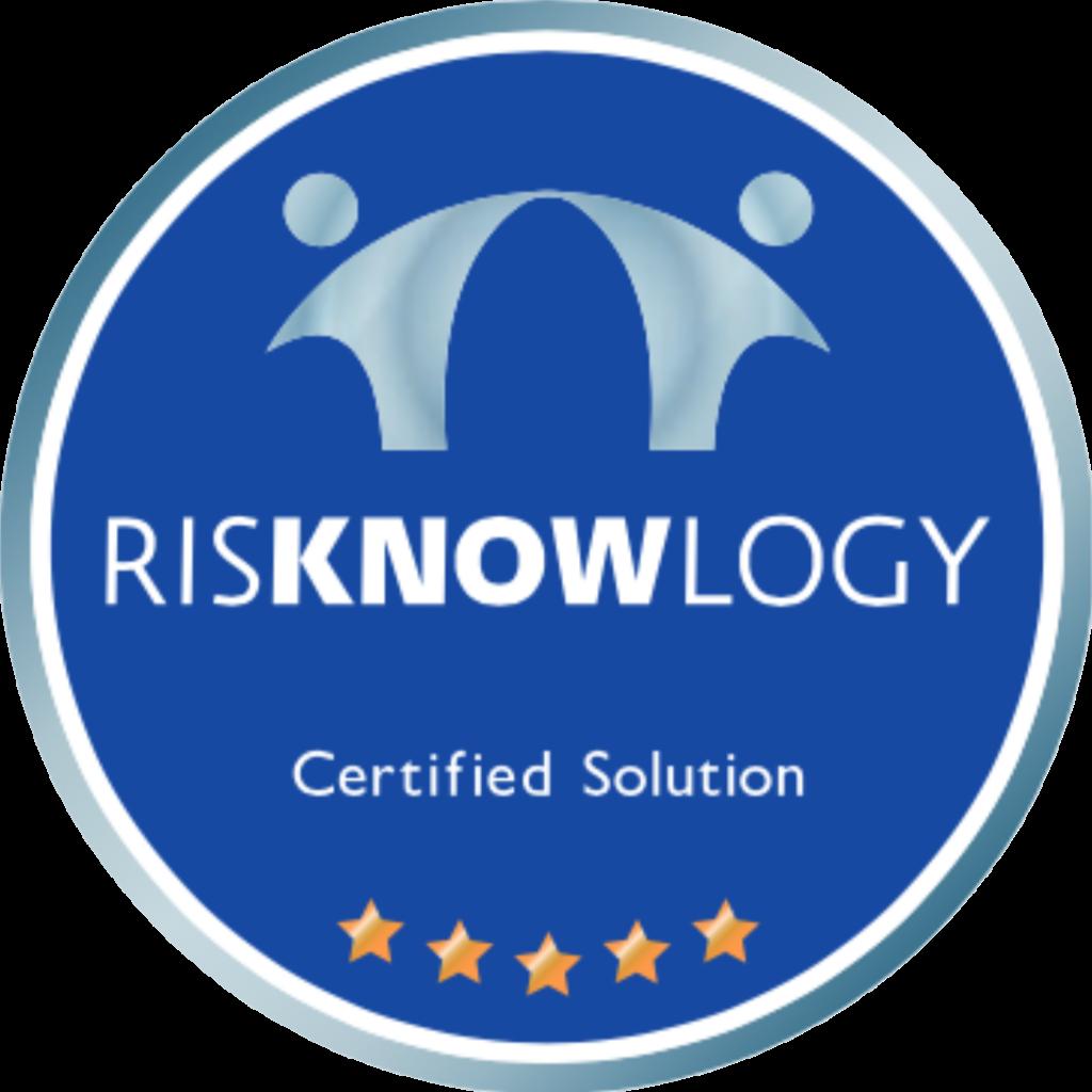 Logo Certificación de Competencia de Risknowlogy