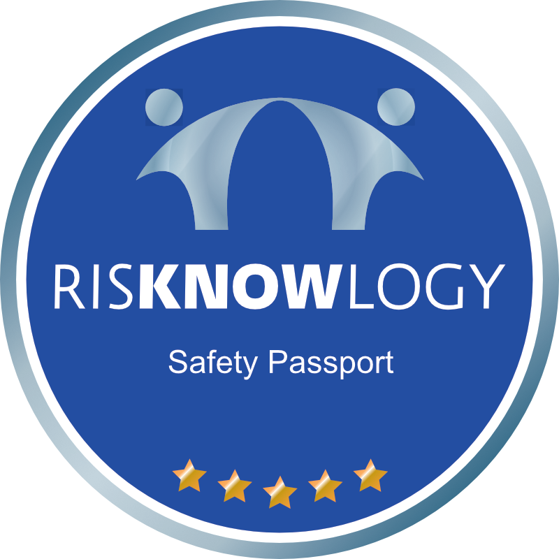 Safety Passport of Darren Critchlow